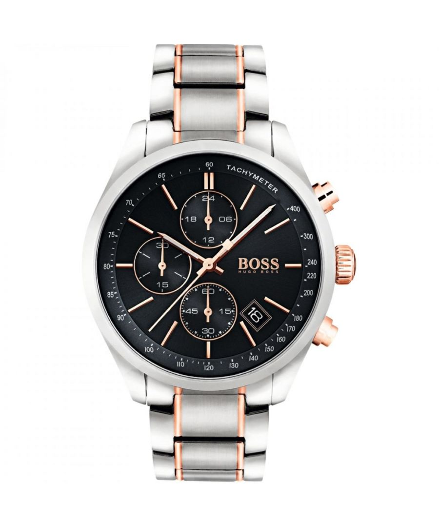 Image for Hugo Boss Mens' Grand Prix Chronograph Watch 1513473