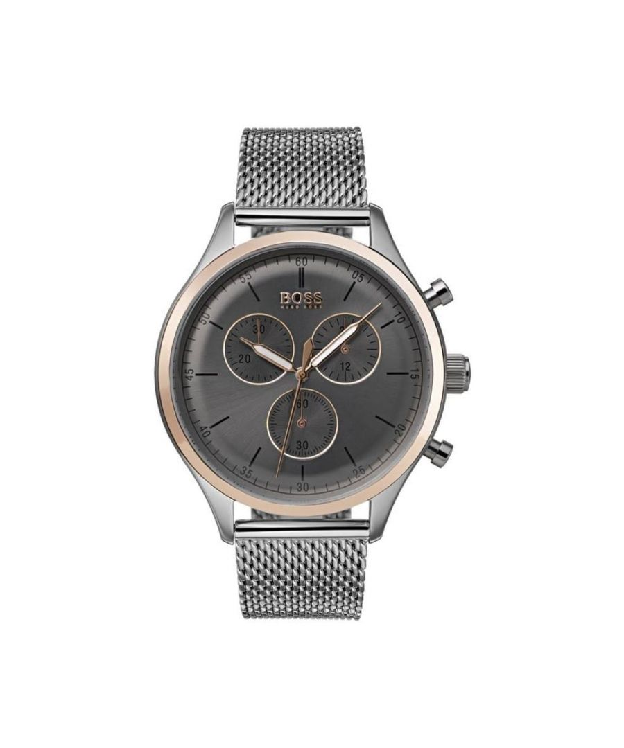 Image for Hugo Boss Mens' Companion Chronograph Watch 1513549