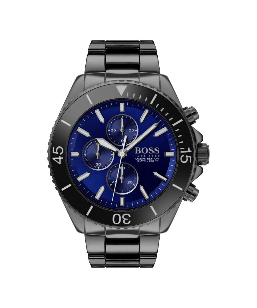 Image for Hugo Boss Mens' Ocean Edition Chronograph Watch 1513743