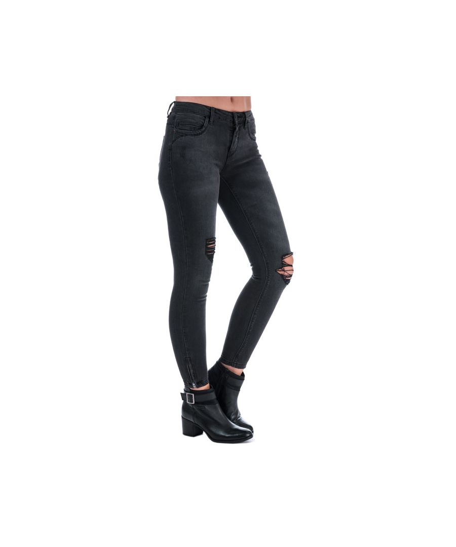 Image for Women's Only Kendell Skinny Ankle Jeans in Black