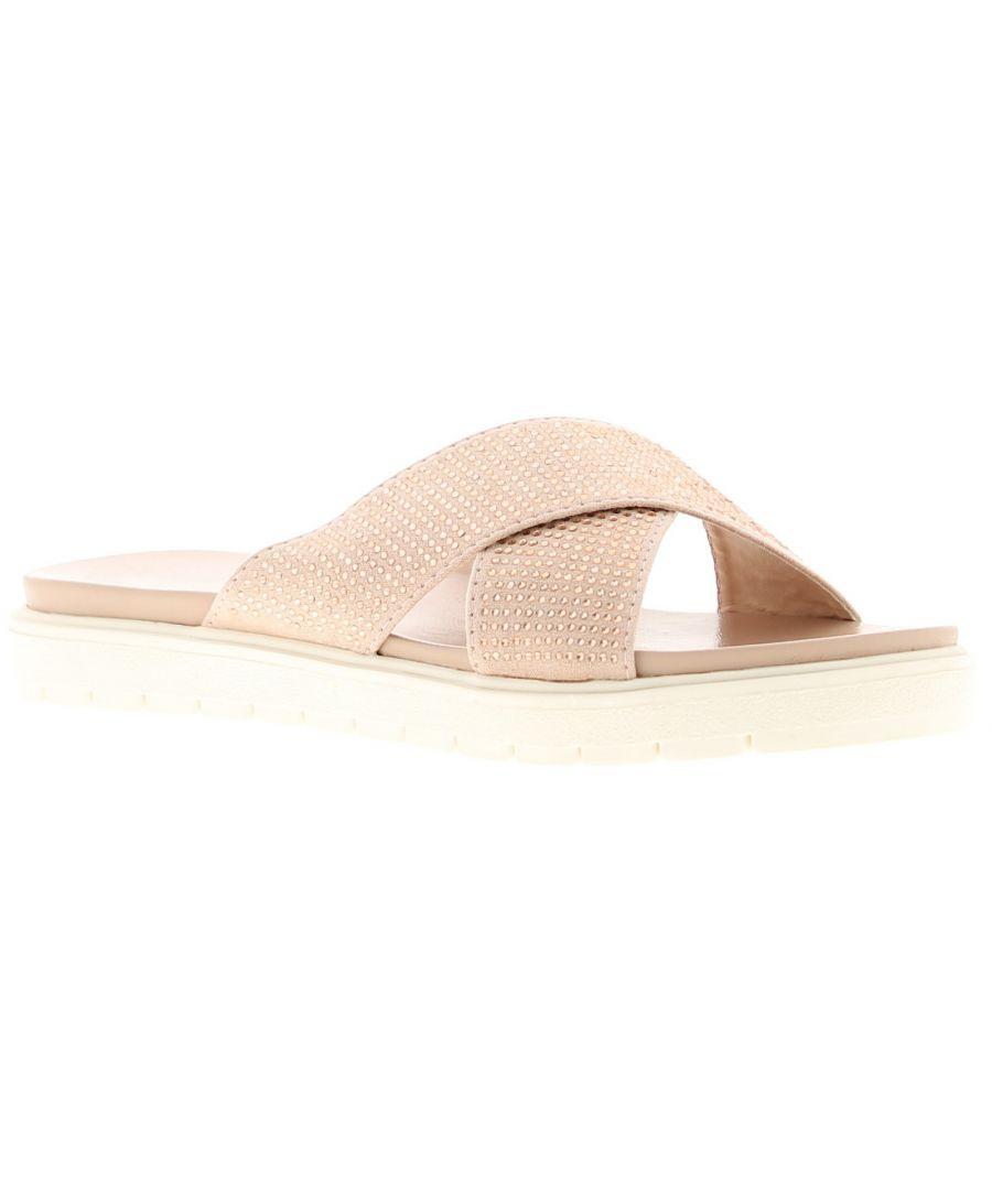 Image for Ladies Women'ss Summer Sandal Open Toe Slip On