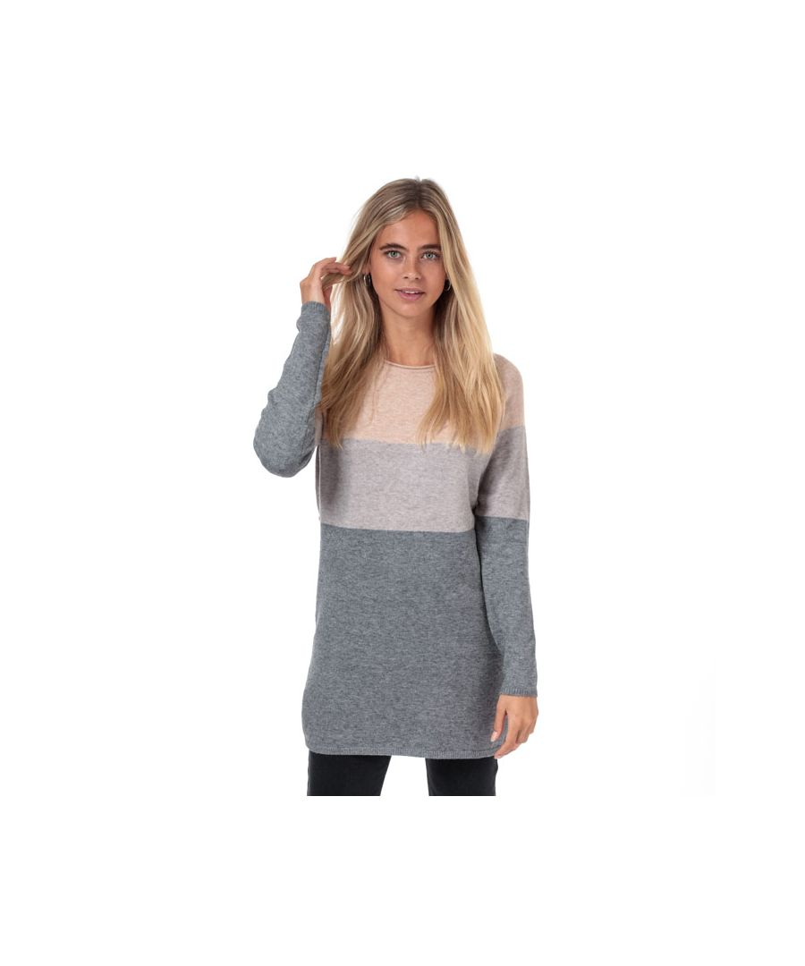 Image for Women's Only Lillo Colourblock Jumper Dress in Rose