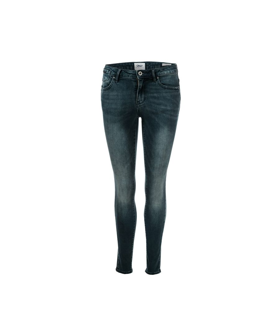 Image for Women's Only Carmen Life Skinny Jeans in Dark Blue