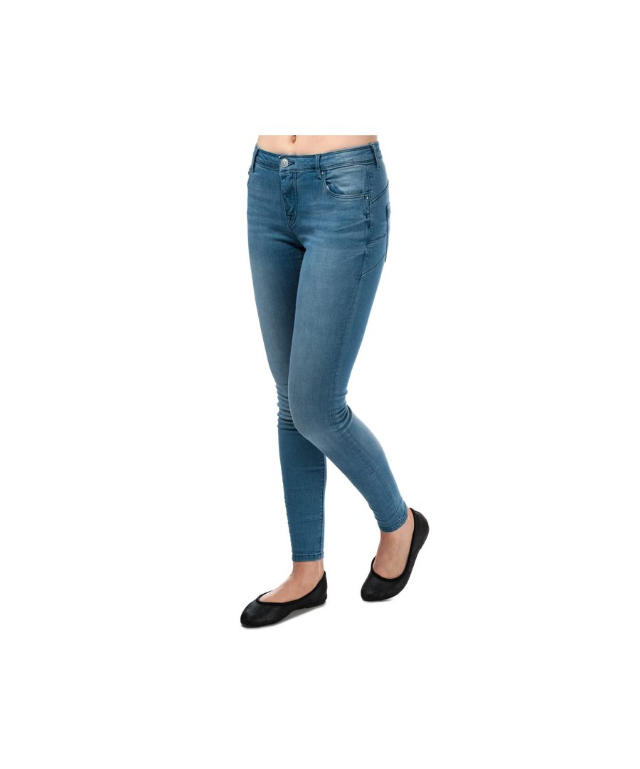 Image for Women's Only Allan Push Up Skinny Jeans in Light Blue