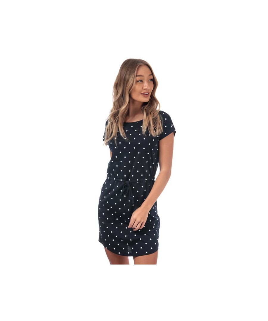 Image for Women's Only May Polka Dot Dress in Navy-White