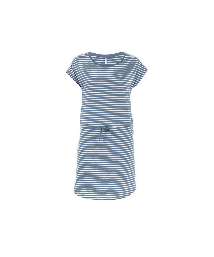 Image for Women's Only May Life Stripe Dress in Blue