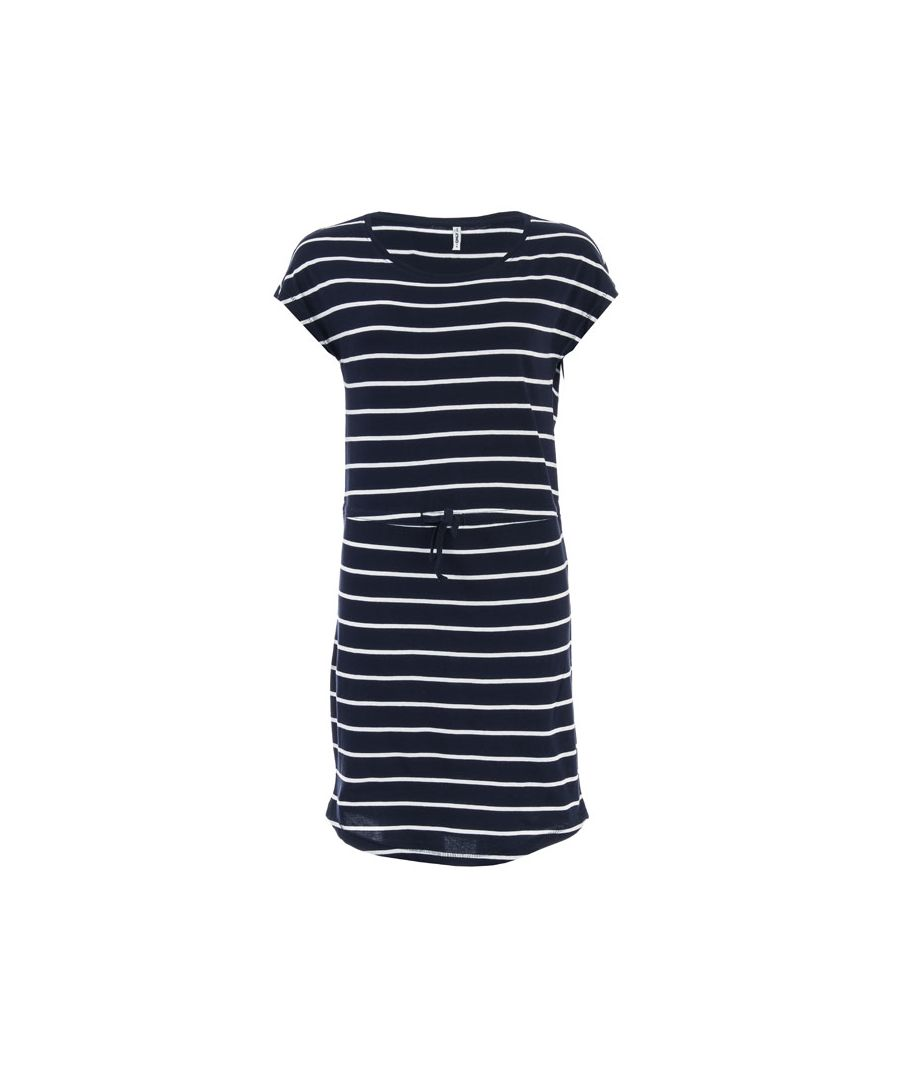 Image for Women's Only May Life Stripe Dress in Navy-White