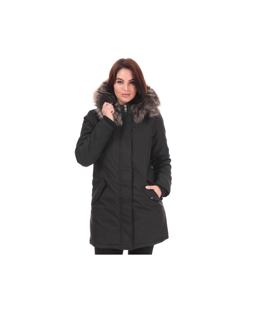 Image for Women's Only Katy Parka Jacket in Black