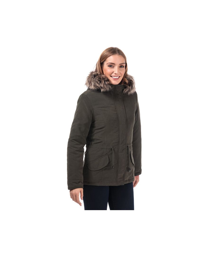 Image for Women's Only Lucca Parka Jacket in olive