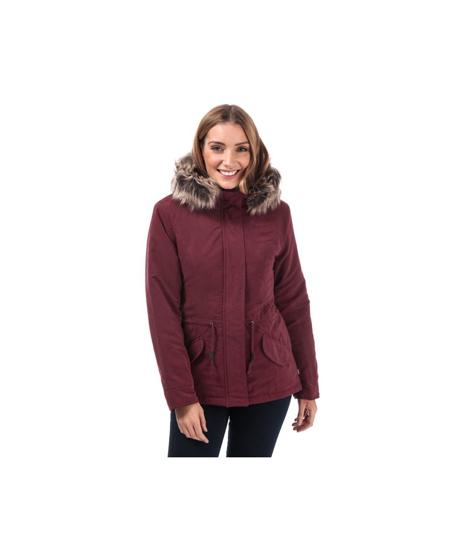 Image for Women's Only Lucca Parka Jacket in Port