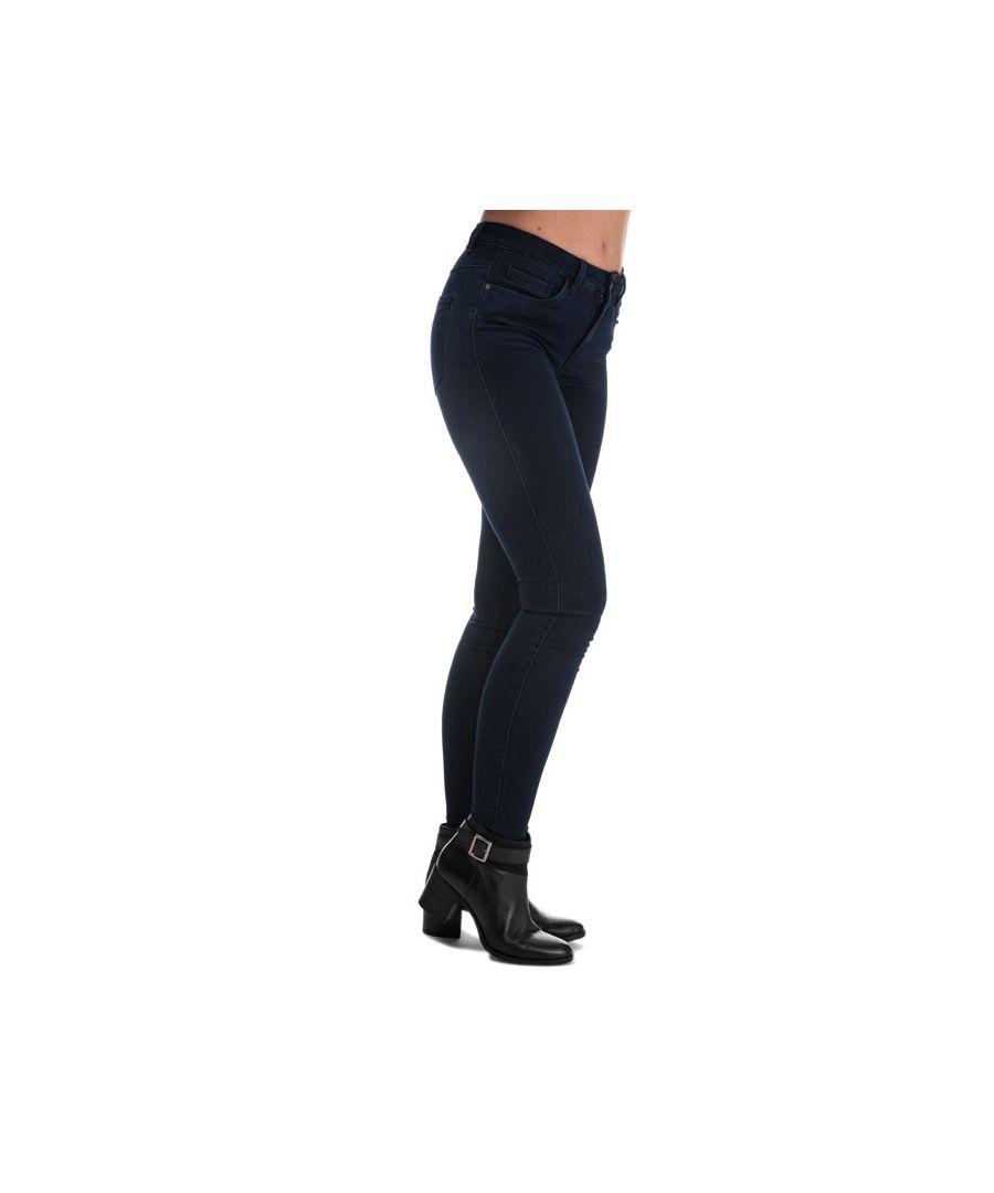 Image for Women's Only Royal Skinny Jeans in Dark Blue
