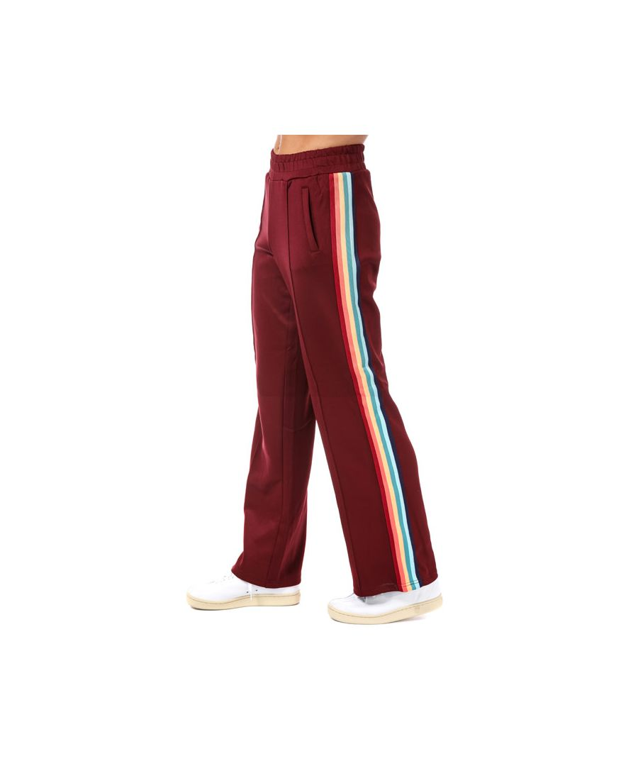 Image for Women's Only Misty Rainbow Stripe Jog Pants in Chocolate