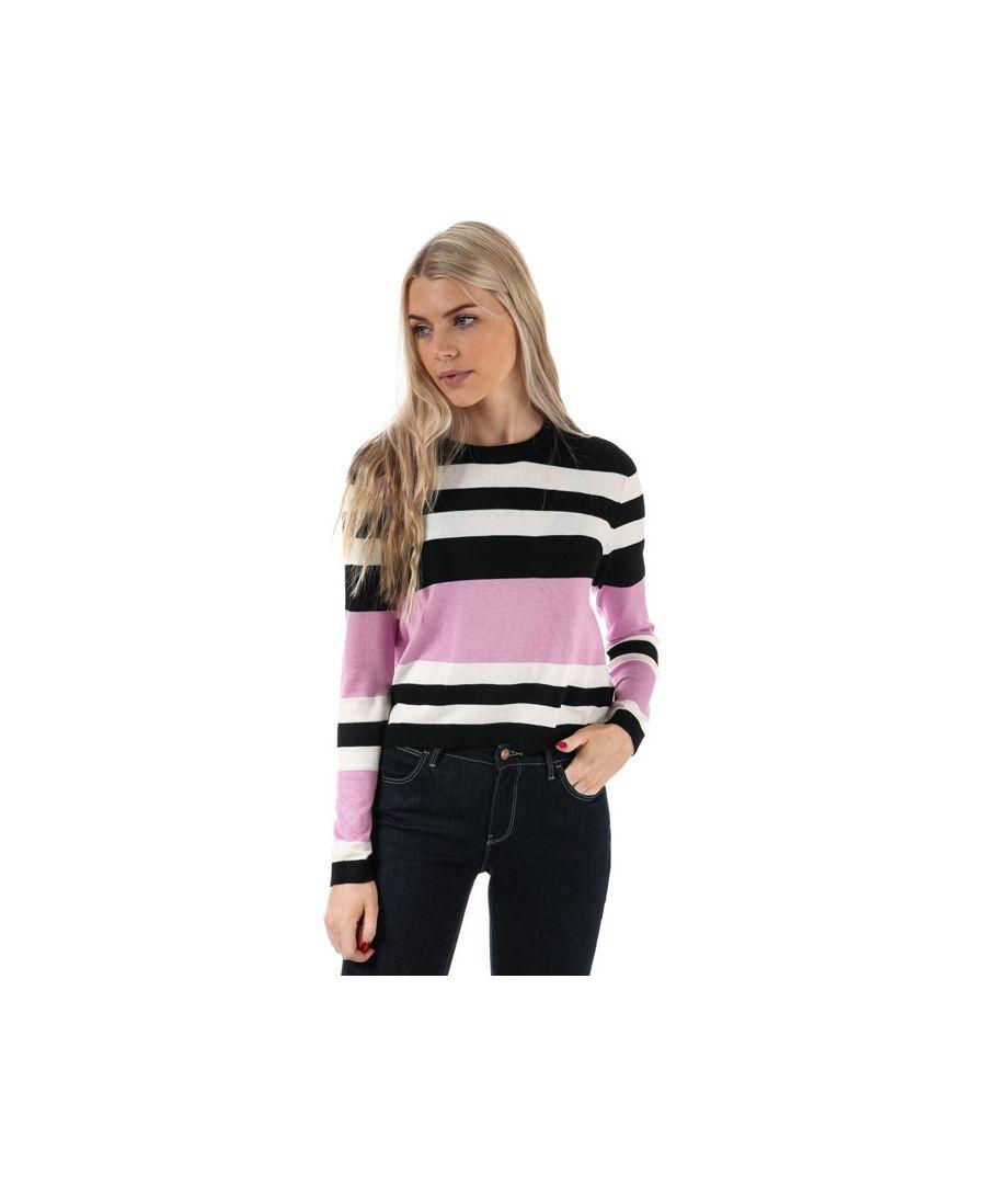 Image for Women's Only Houston Stripe Jumper in Black