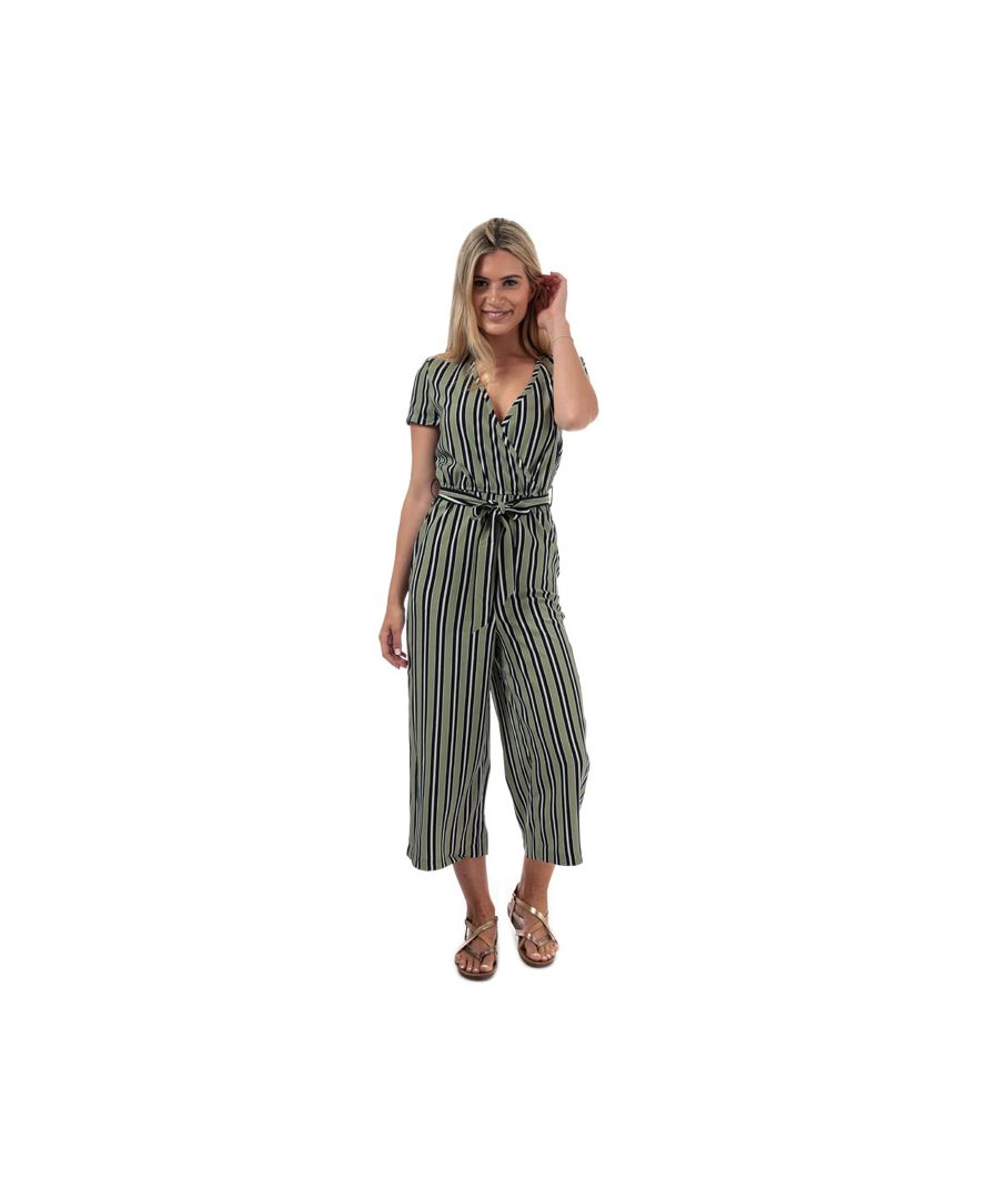 Image for Women's Only Rose Jumpsuit in Green