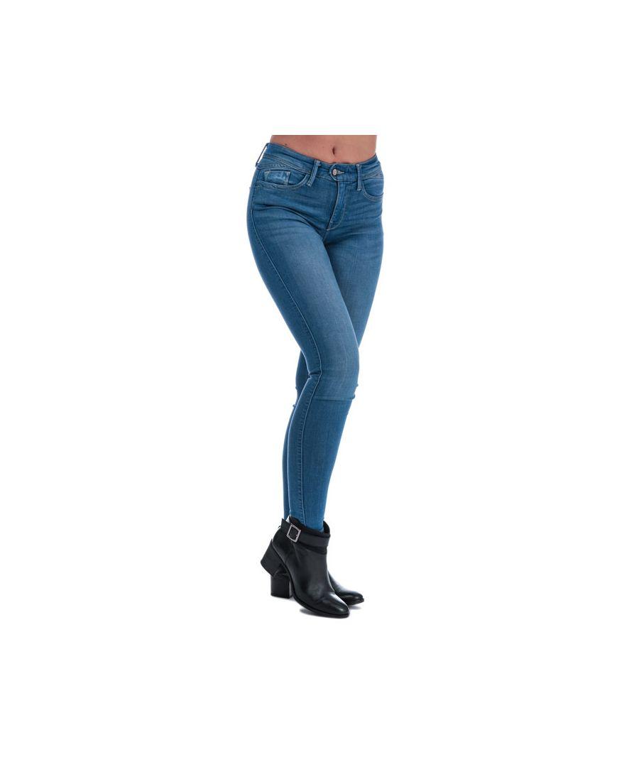 Image for Women's Only Carmen Skinny Jeans in Denim