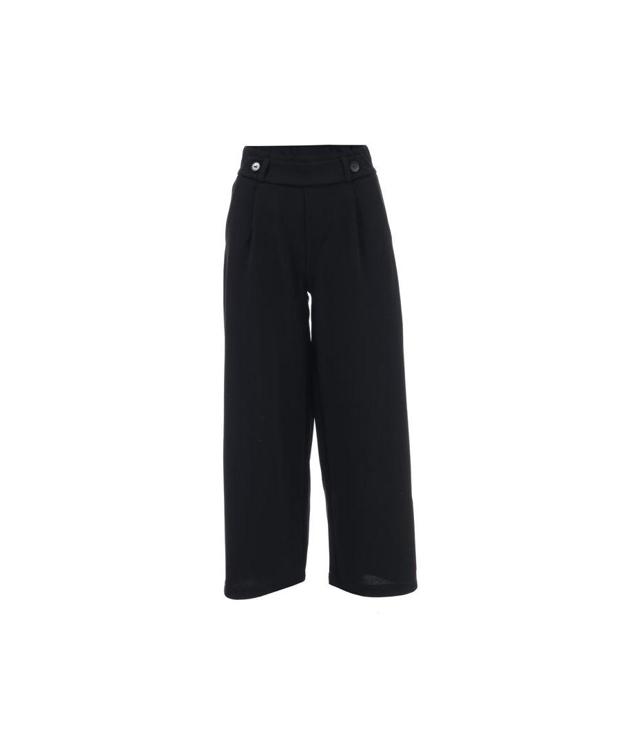 Image for Women's Jacqueline de Yong Geggo Jersey Trousers in Black
