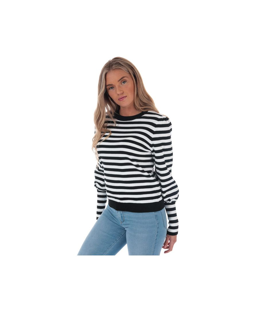 Image for Women's Only Shira Crew Neck Jumper in Black