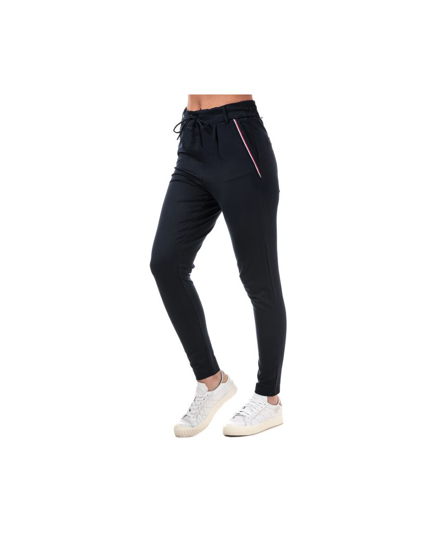 Image for Women's Only Poptrash Easy New Sporty Tape Pants in Navy