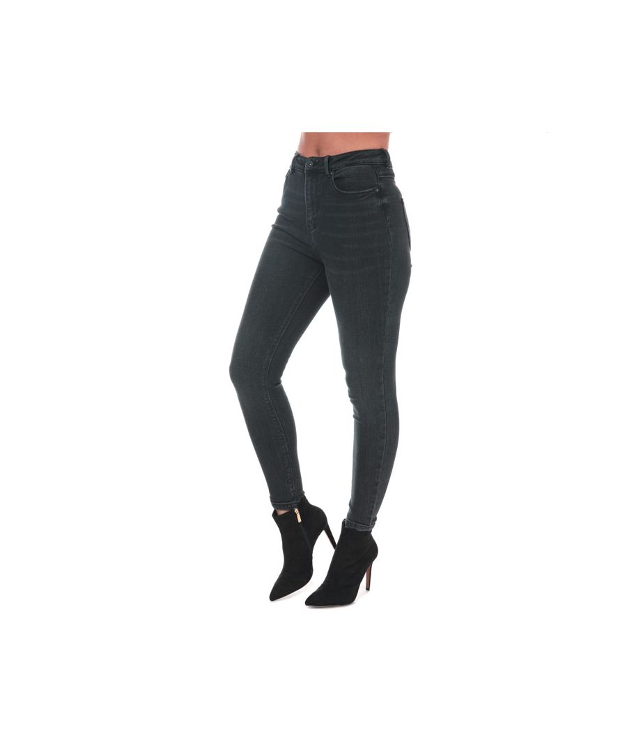 Image for Women's Only Mila Life Skinny Ankle Jeans in Black