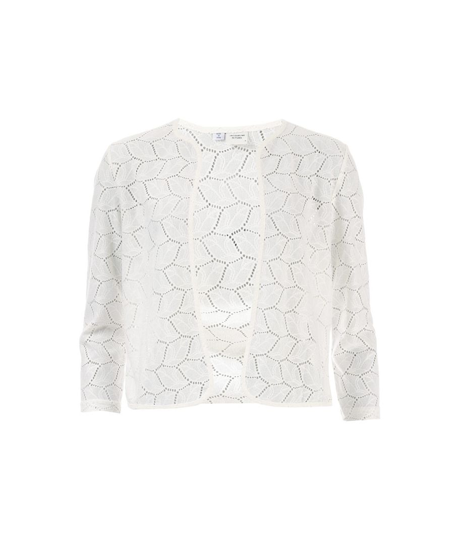 Image for Women's Jacqueline de Yong Tag Cardigan in White