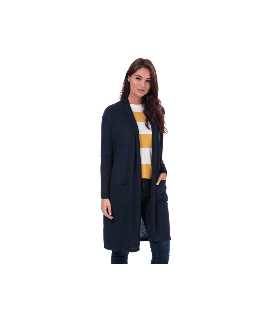 Image for Women's Only Maye Open Cardigan in Navy