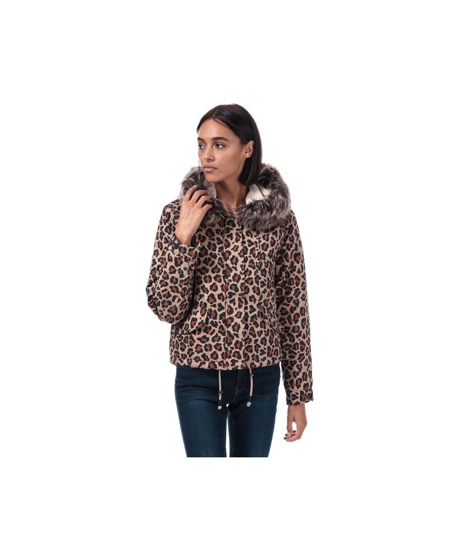 Image for Women's Only Skylar Parka Jacket in Beige