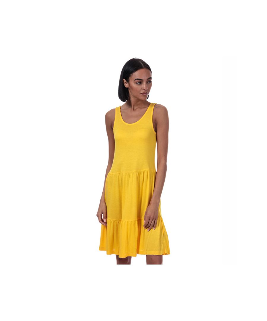 Image for Women's Only Nyla Jersey Dress in Yellow