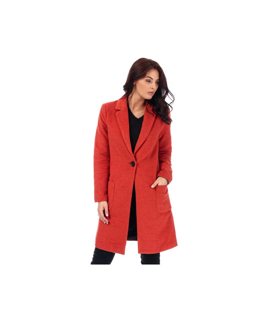 Image for Women's Only Astrid Marie Coat in Rust