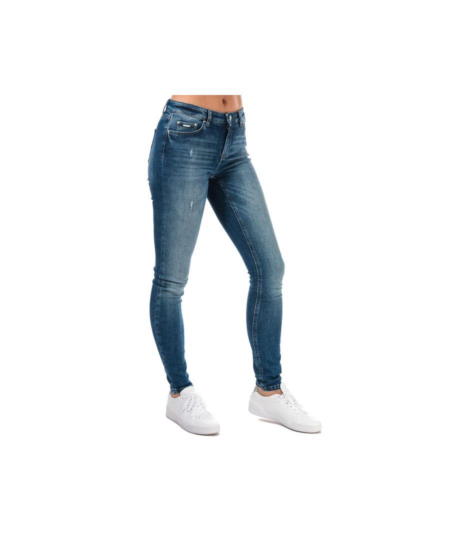 Image for Women's Only Carmen Life Skinny Jeans in Denim
