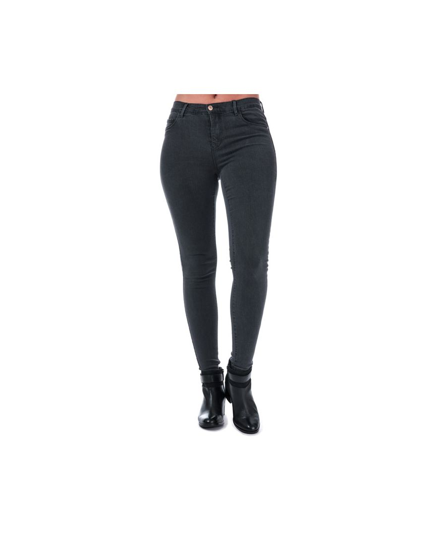 Image for Women's Only Rain Skinny Jeans in Grey