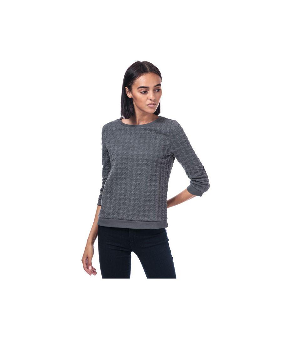 Image for Women's Only Mynthe Joyce Crew Sweatshirt in Grey Marl