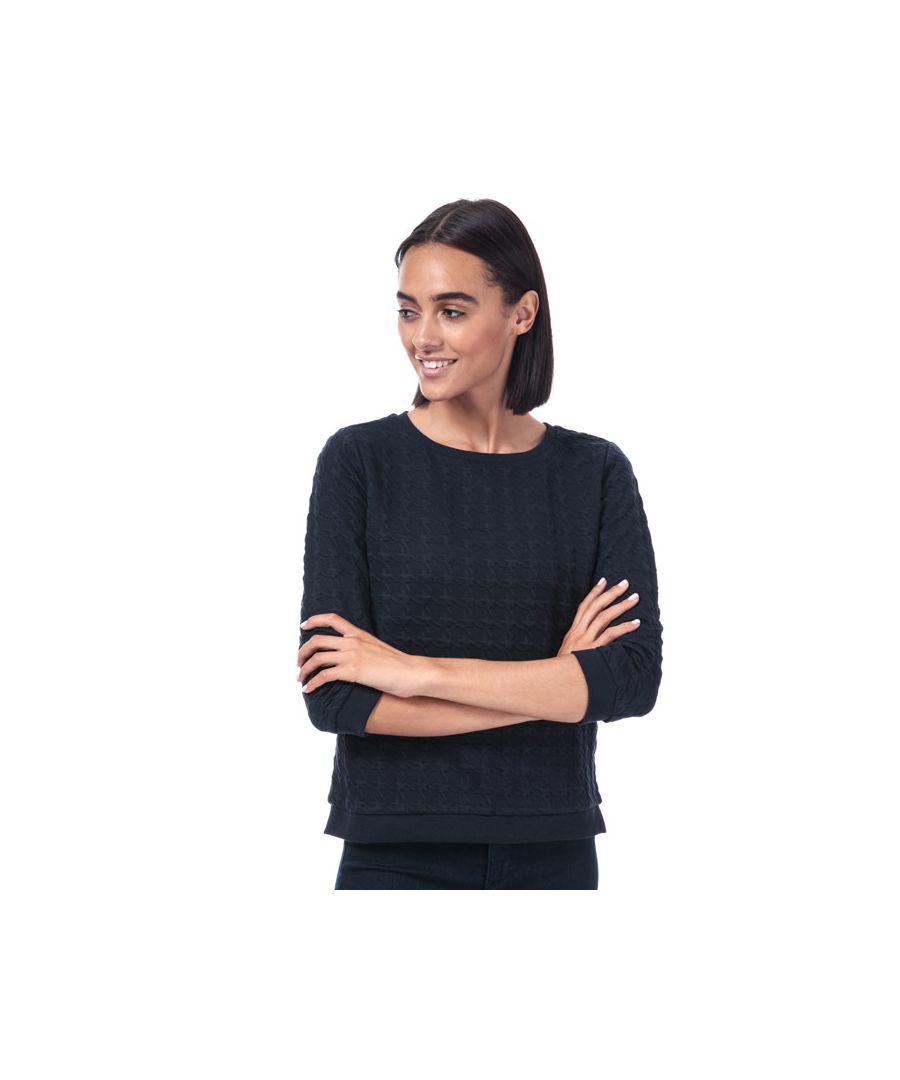 Image for Women's Only Mynthe Joyce Crew Sweatshirt in Navy