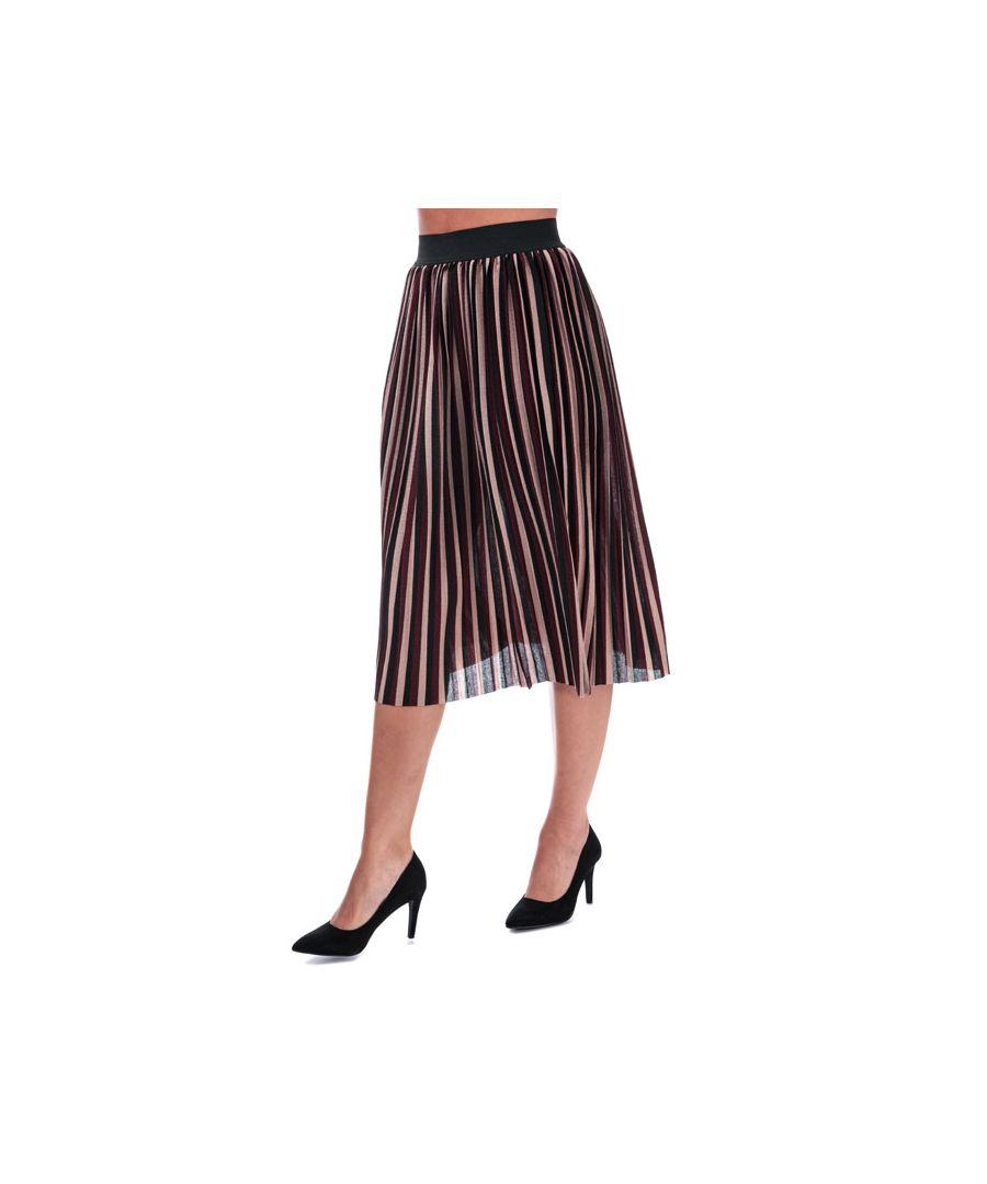 Image for Women's Only Sway Stripe Skirt in Port