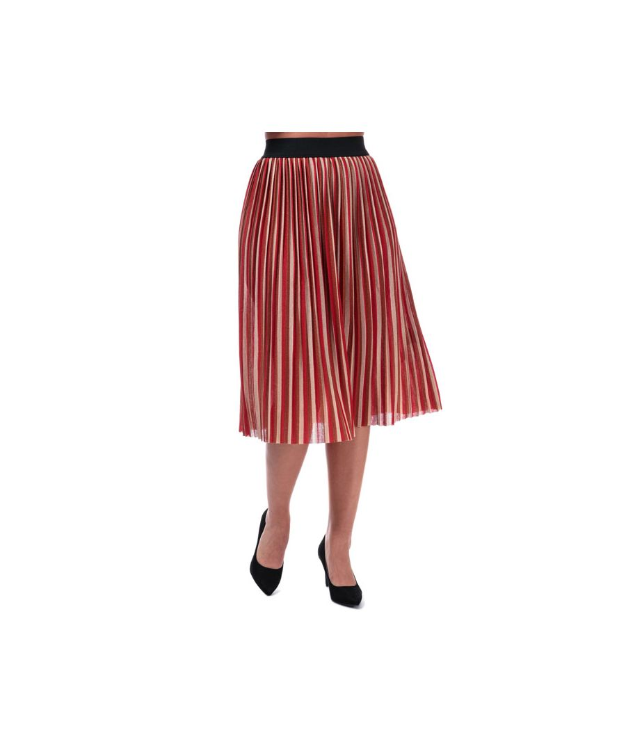 Image for Women's Only Sway Stripe Skirt in Rust