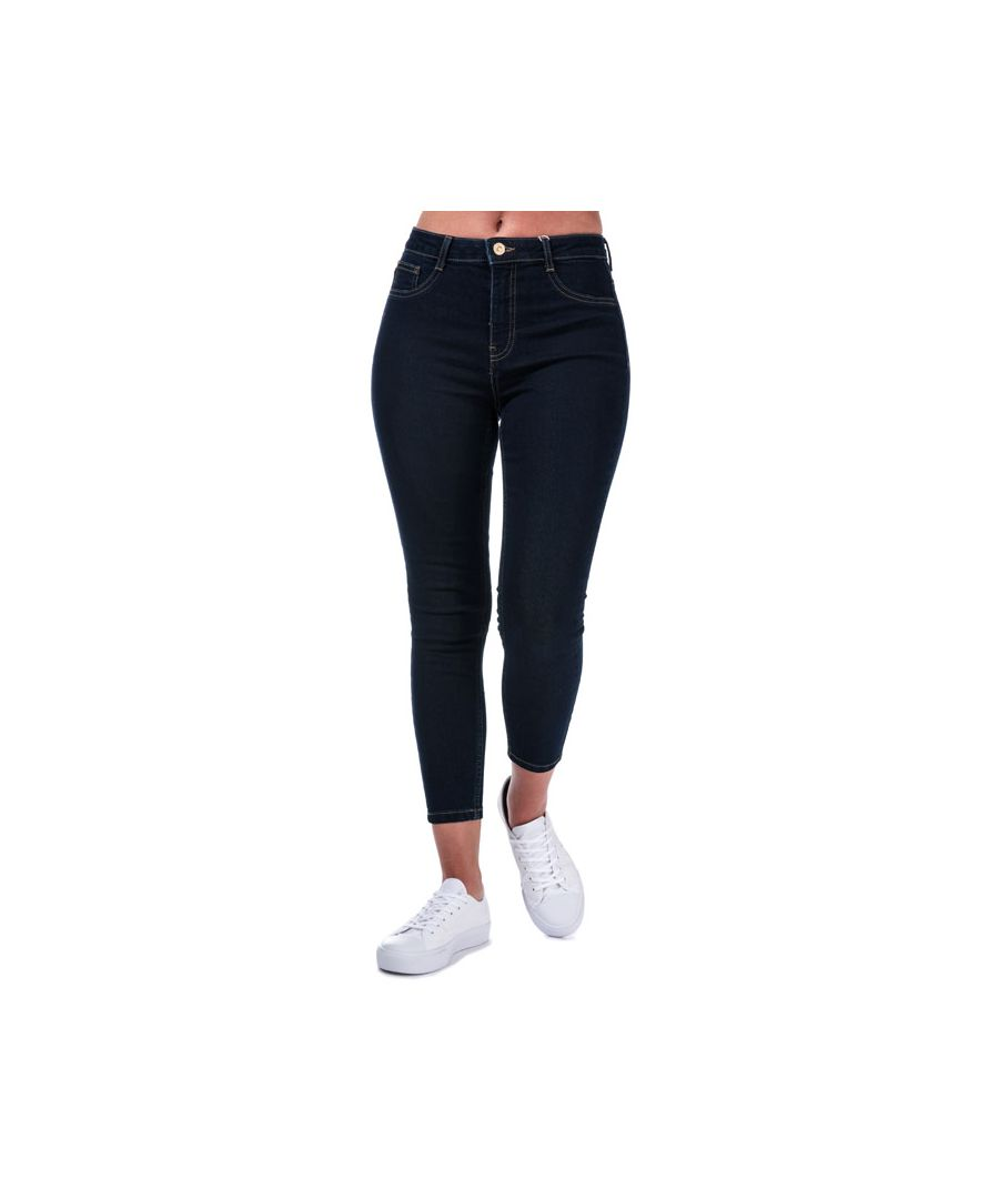 Image for Women's Only Hi-Rise Skinny Jeans in Dark Blue