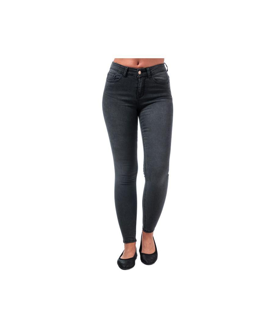 Image for Women's Only Lanne K Mid Skinny Jeans in Black