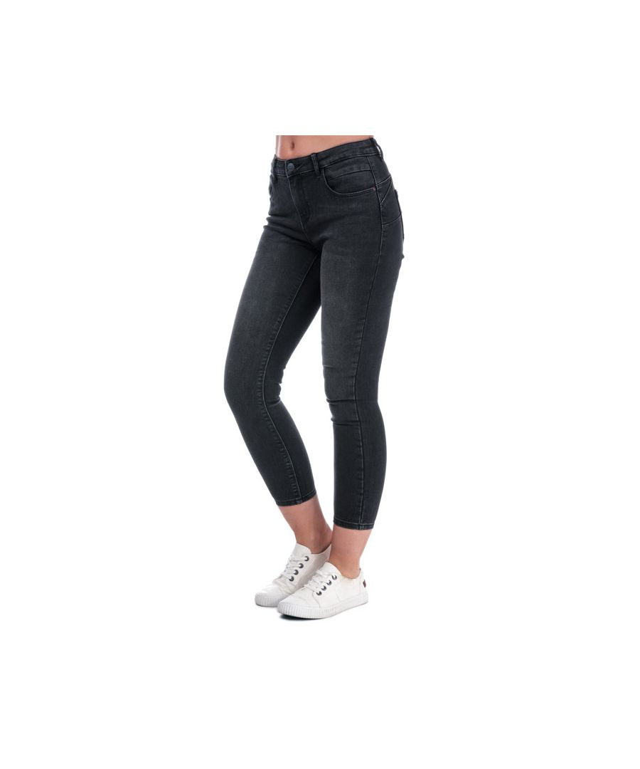 Image for Women's Only Daisy Push Up Skinny Jeans in Black