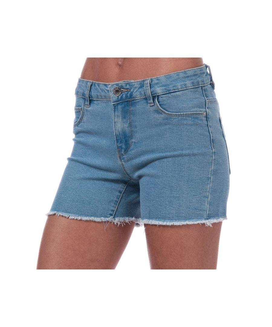 Image for Women's Only Sun Denim Shorts in Light Blue