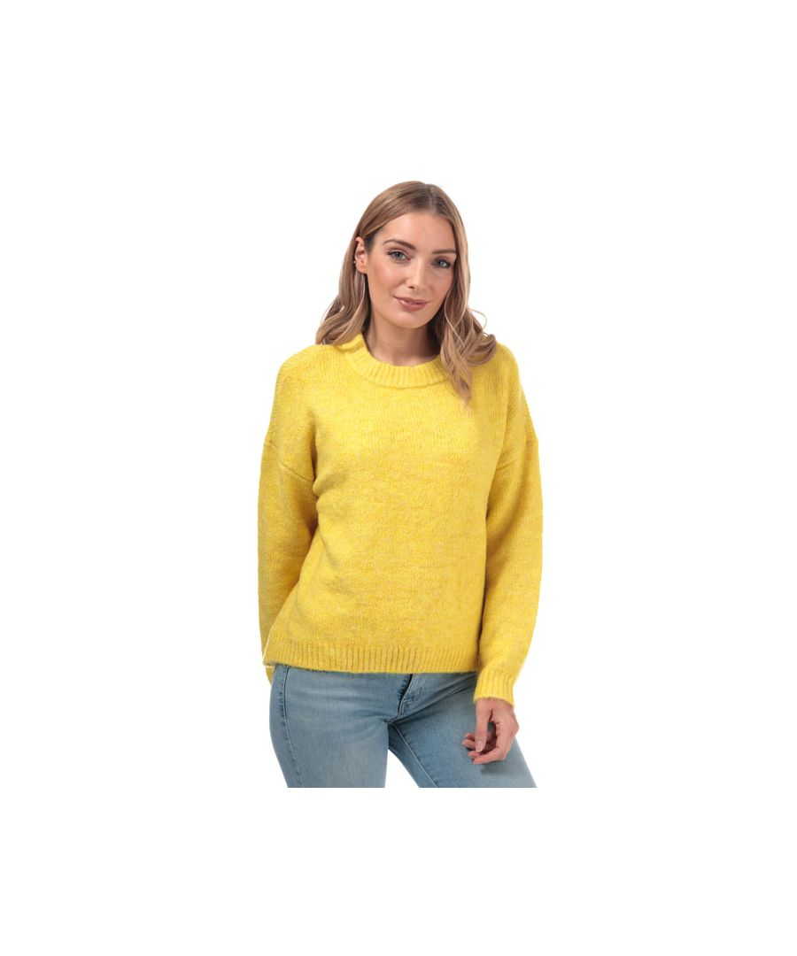 Image for Women's Only Zoey Boyfriend Jumper in Yellow