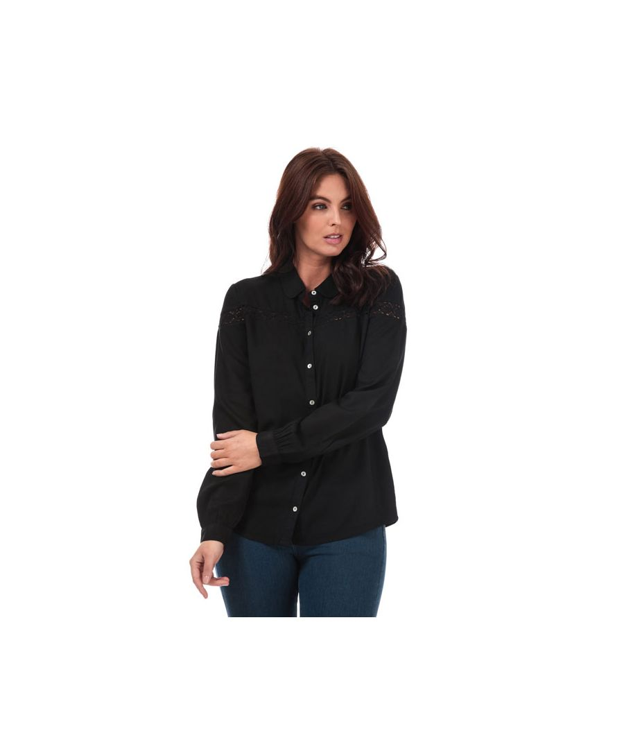 Image for Women's Jacqueline de Yong Rosalina Shirt in Black