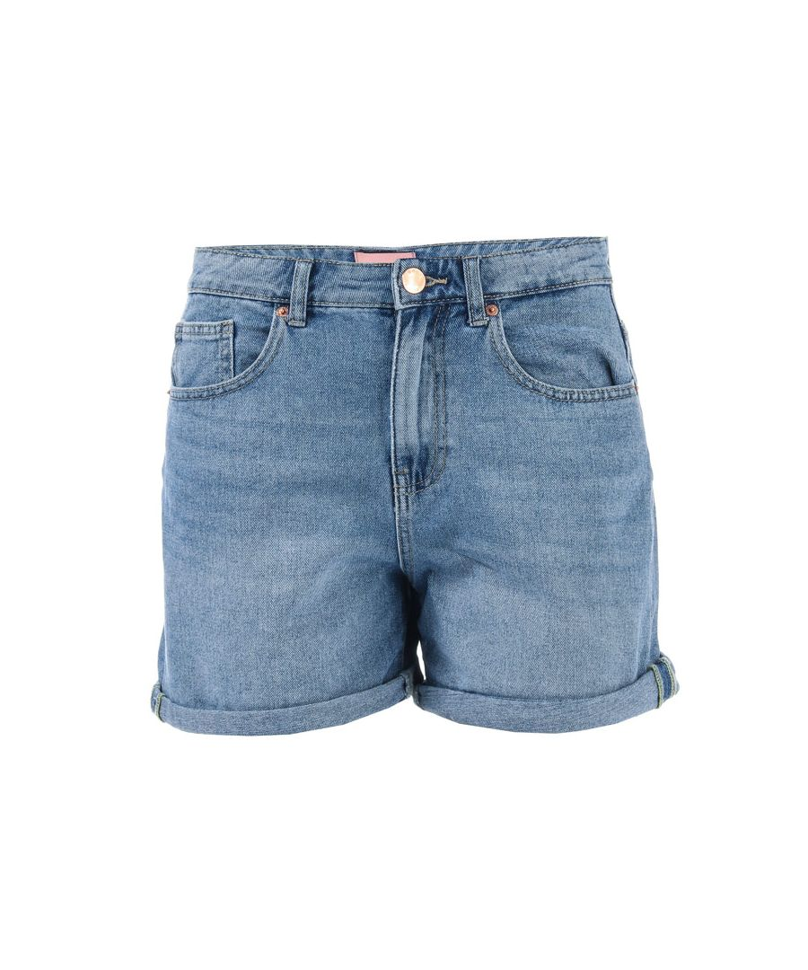 Image for Women's Only Phine Life Denim Shorts in Light Blue