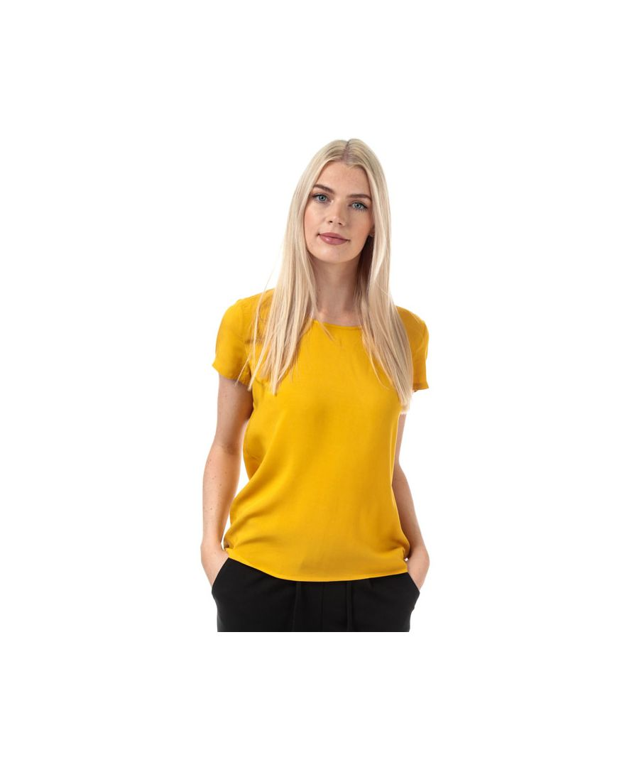 Image for Women's Only First One Life Top in Yellow