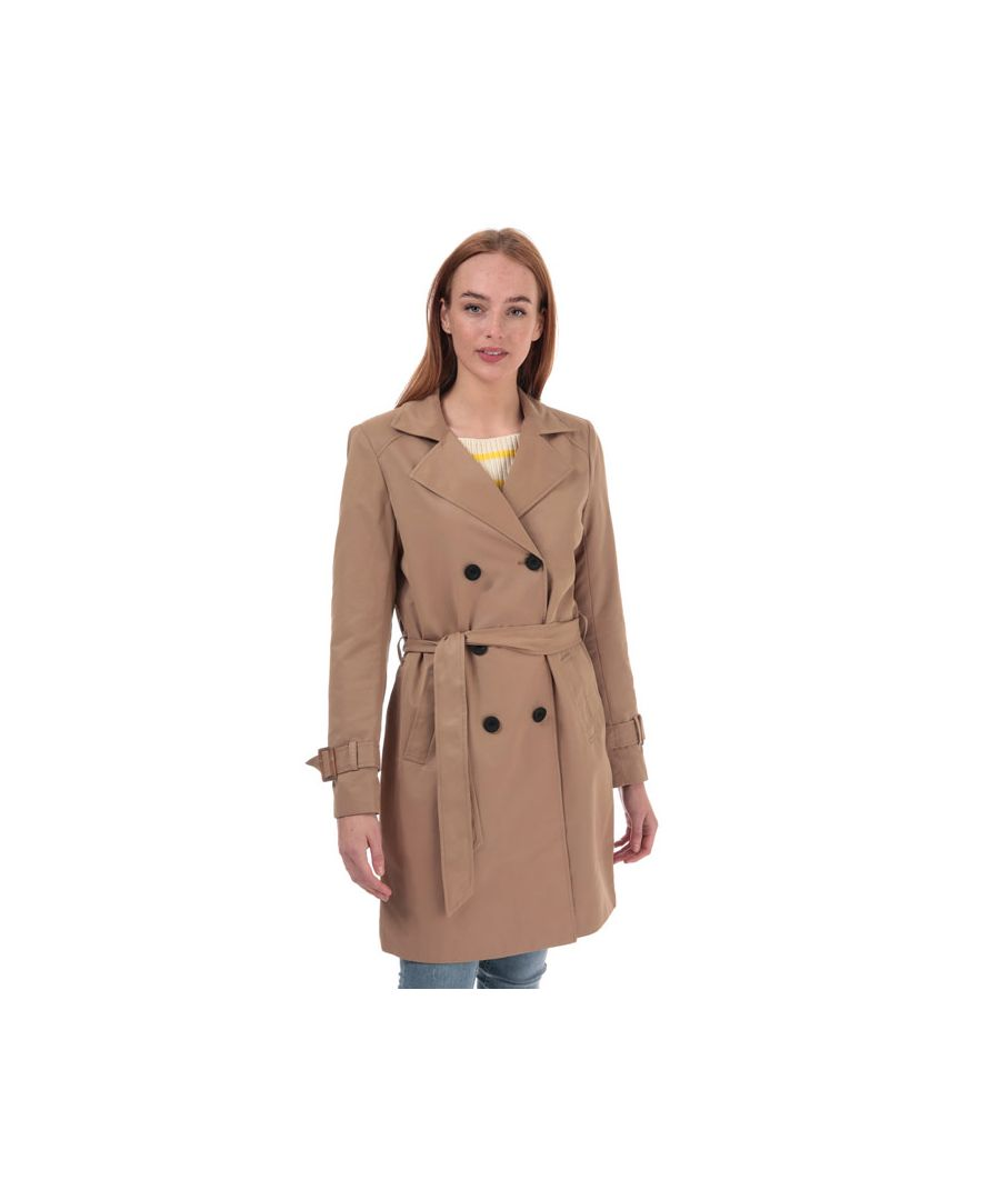 Image for Women's Only Vega Trench Coat in Brown