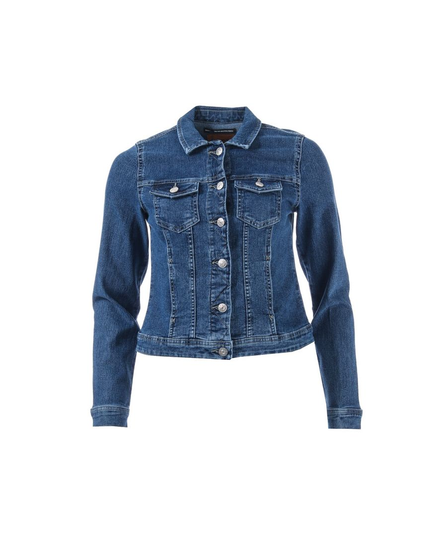 Image for Women's Only Westa Denim Jacket in Denim