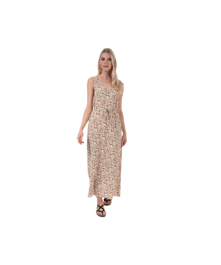 Image for Women's Jacqueline de Yong Tricky Maxi Dress in Sand
