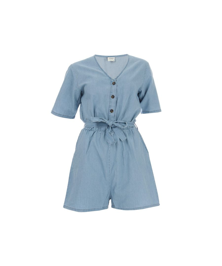 Image for Women's Jacqueline de Yong Billy Life Playsuit in Light Blue