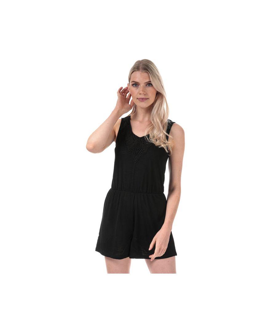 Image for Women's Jacqueline de Yong Dodo Playsuit in Black