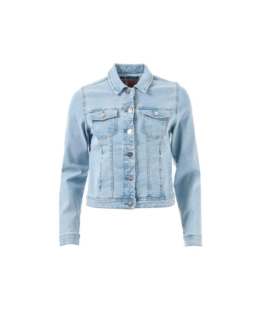 Image for Women's Only Westa Denim Jacket in Light Blue