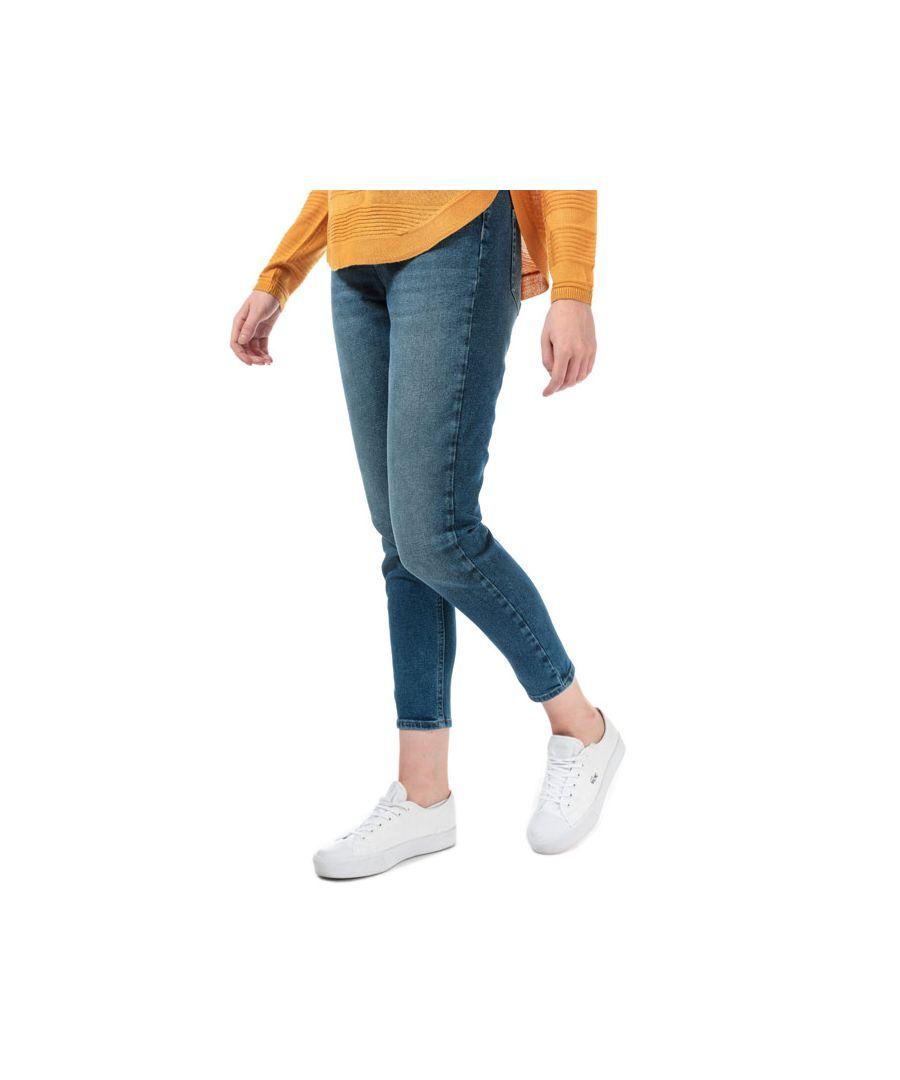 Image for Women's Only Veneda Life Mom Jeans in Dark Blue