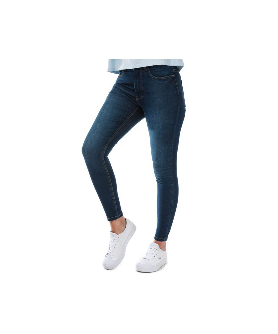 Image for Women's Jacqueline de Yong New Nikki Life High Rise Skinny Jeans in Denim